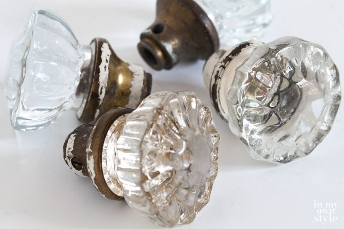 Don't like the selection of curtain rods you see when shopping for new ones? Why not make and design your own with door knobs and electrical metal tubing. This full step-by-step photo tutorial shows you how. | In My Own Style