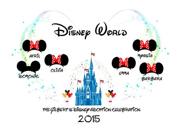 Disney World 'Family Vacation 2015/2016' by Pixiedesigns89 on Etsy