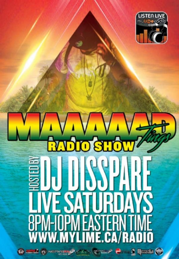 @djdisspare will be live on Saturdays from 8pm till 10pm on @mytime2lime radio in two weeks !! shouts out to @djrichness for the shout out and @djundacover for