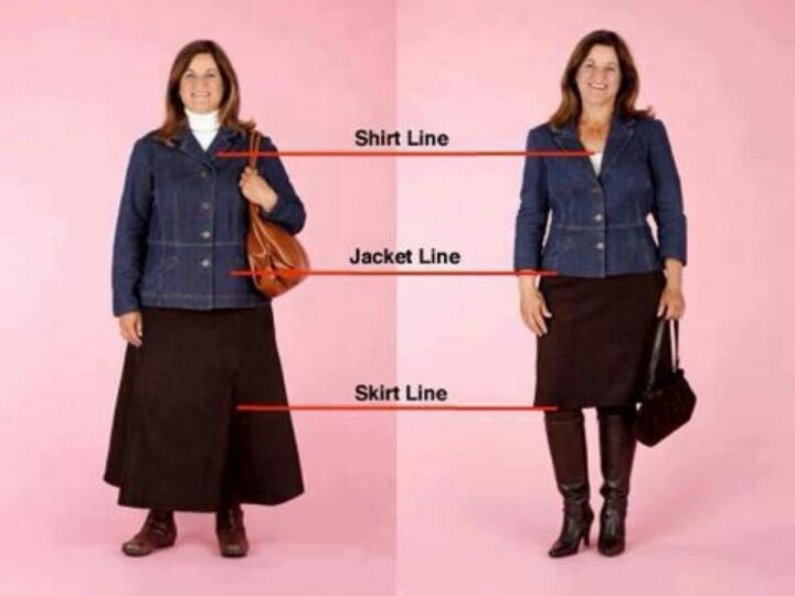 What A Difference Proportions Can Make And A Great Visual Reminder Of How A Stylist Can Change