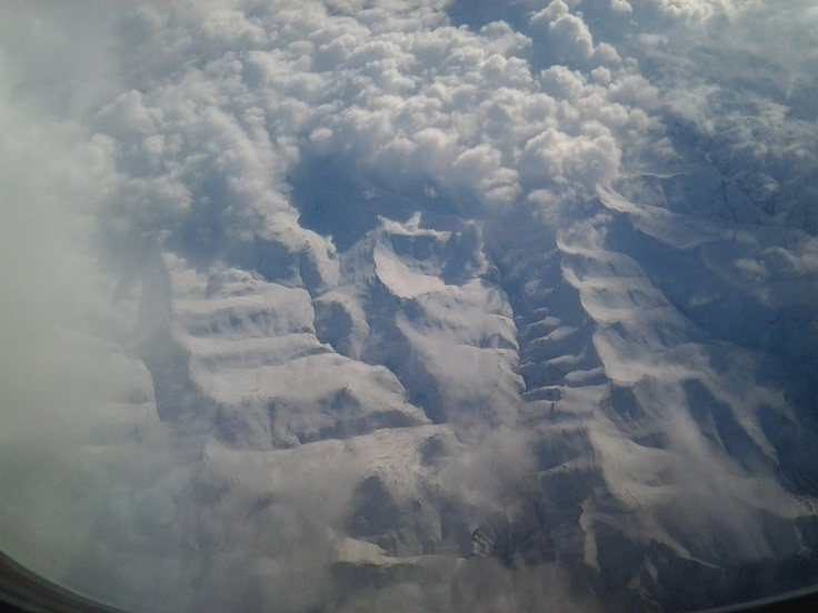 Project ELA - On the way back, some serious Snow seen over the Lesotho Mountains. I don't want to be living there right now
