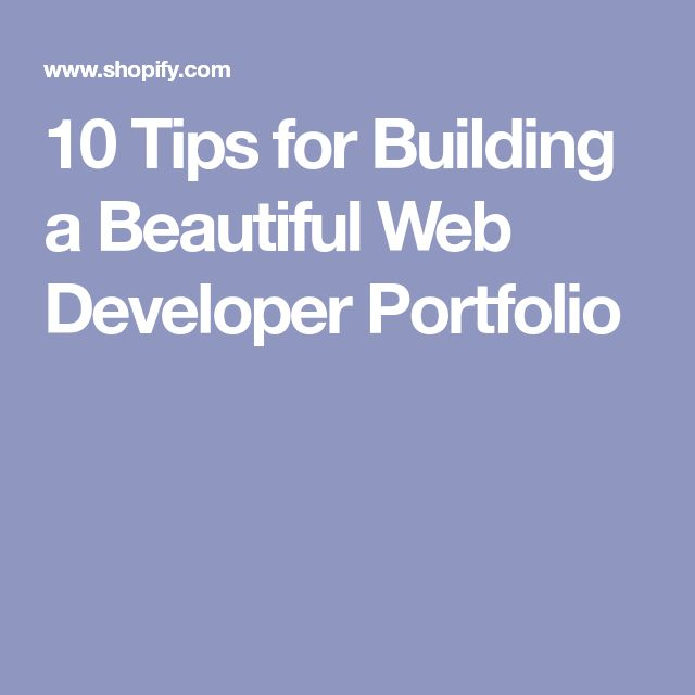 The 25+ best Web developer portfolio ideas on Pinterest Web - resume web developer