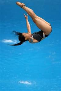 Competitive Diving....so scary to me, but beautiful to watch.
