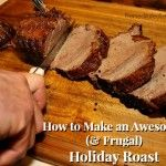 How to make a beef chuck cross rib rost taste like prime rib - totally awesome roast on a budget