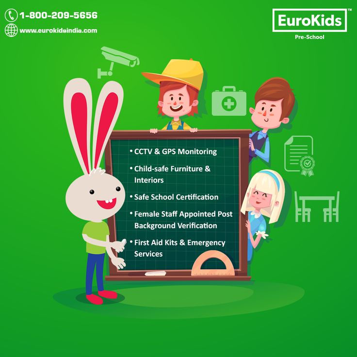 Safety is a feeling that resonates in the happy faces of EuroKids students. #Becausewecare #SafetyFirst