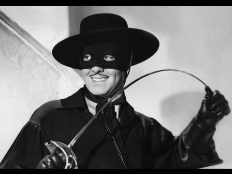 """""""The Mark of Zorro"""" (1920)  1:14:18 You haven't seen Zorro until you've seen Douglas Fairbanks Sr. as Zorro in the 1920 silent swashbuckling classic."""