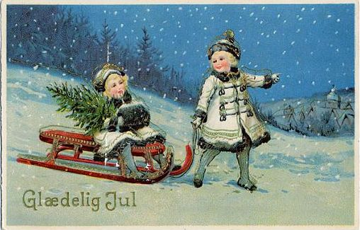 Old Christmas Cards - Best Template Collection