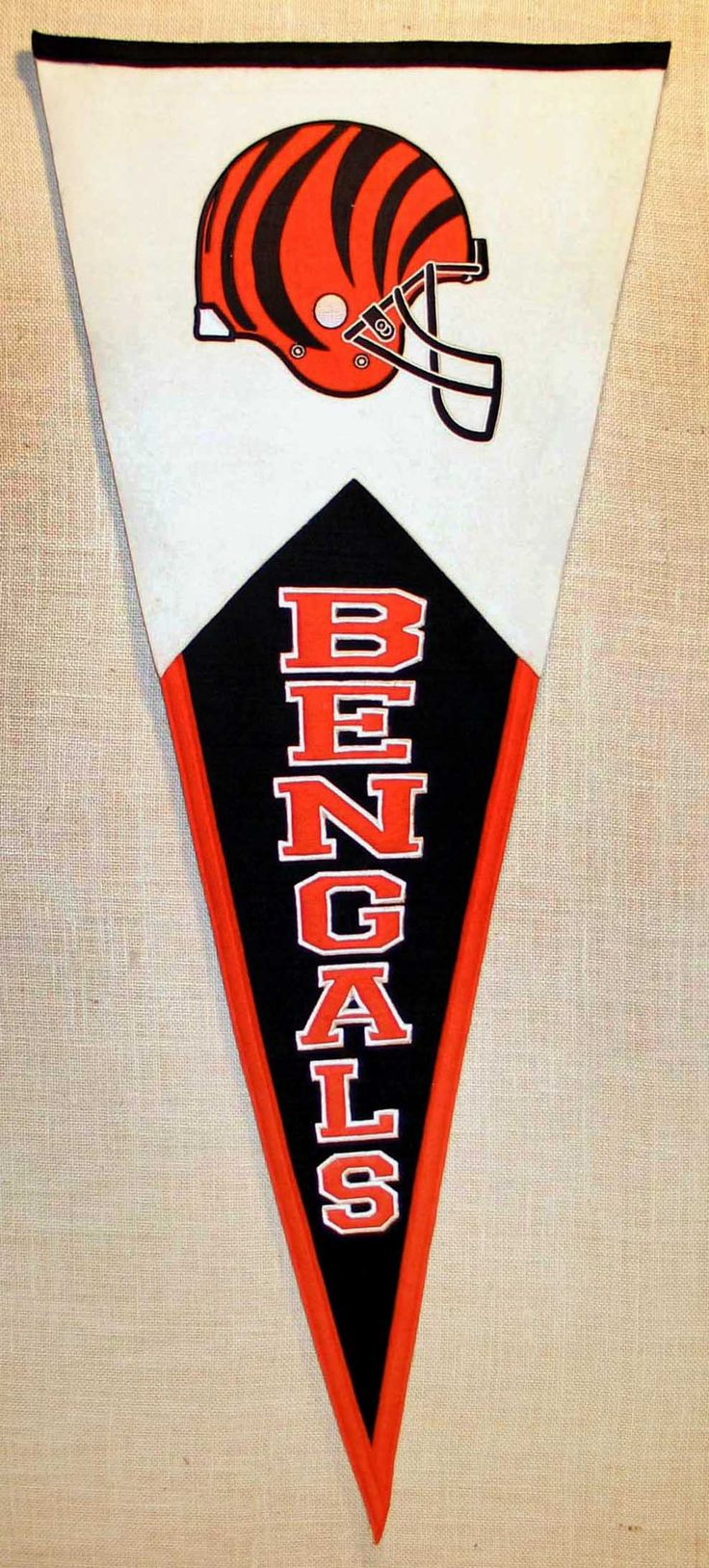 New orleans saints nfl bottle jersey drink cooler dragon sports - Cincinnati Bengals Classic Wool Pennant
