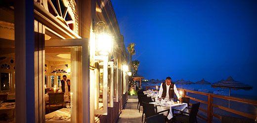 Baron Resort ~ Amisol Travel Et flot hotel med gode faciliteter.Hotellet har restaurant med fisk og skaldyr, egyptisk, indisk, italiensk og buffet.