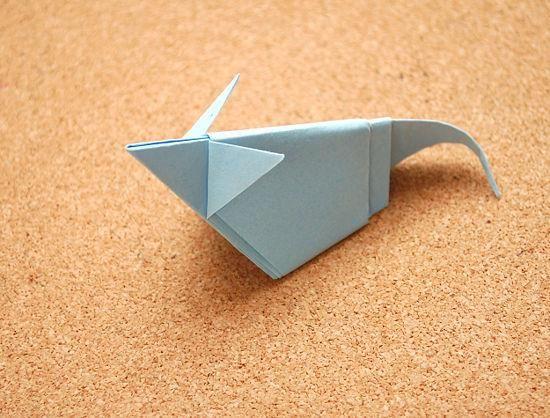 DIY Origami: DIY Make an Origami Mouse