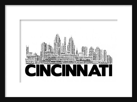 best 25  cincinnati skyline ideas on pinterest