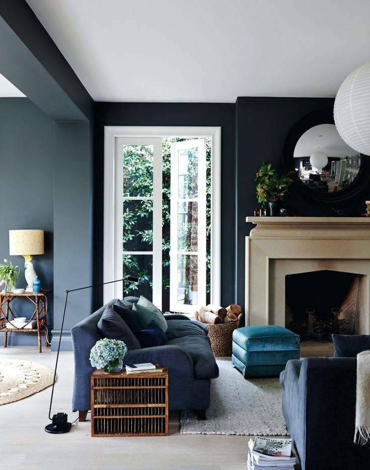 Dunkelgraues Wohnzimmer in 2018 Living  Family Rooms Pinterest - wohnzimmer grau magenta