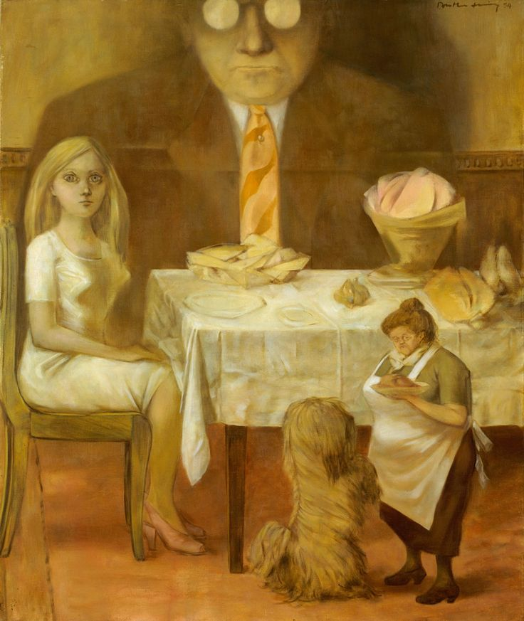 Dorothea Tanning - Portrait of a Family, 1954