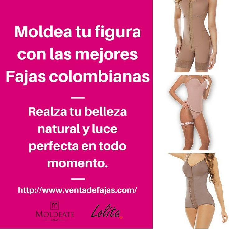 Fajas postquirurgicas y moldeadoras de calidad. ¿Aún no tienes la tuya? #FajasColombianas #FajasdeCalidad #Moldeate