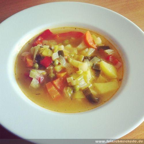 Gemüsesuppe - Gemüseeintopf ... Soulfood pur!
