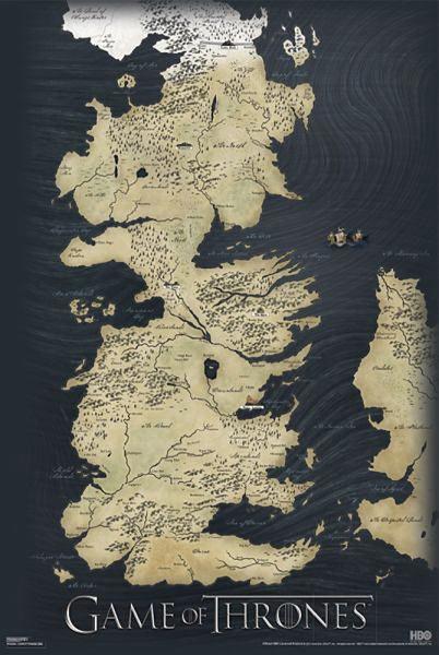25 melhores ideias de Mapa juego de tronos no Pinterest  mapa de