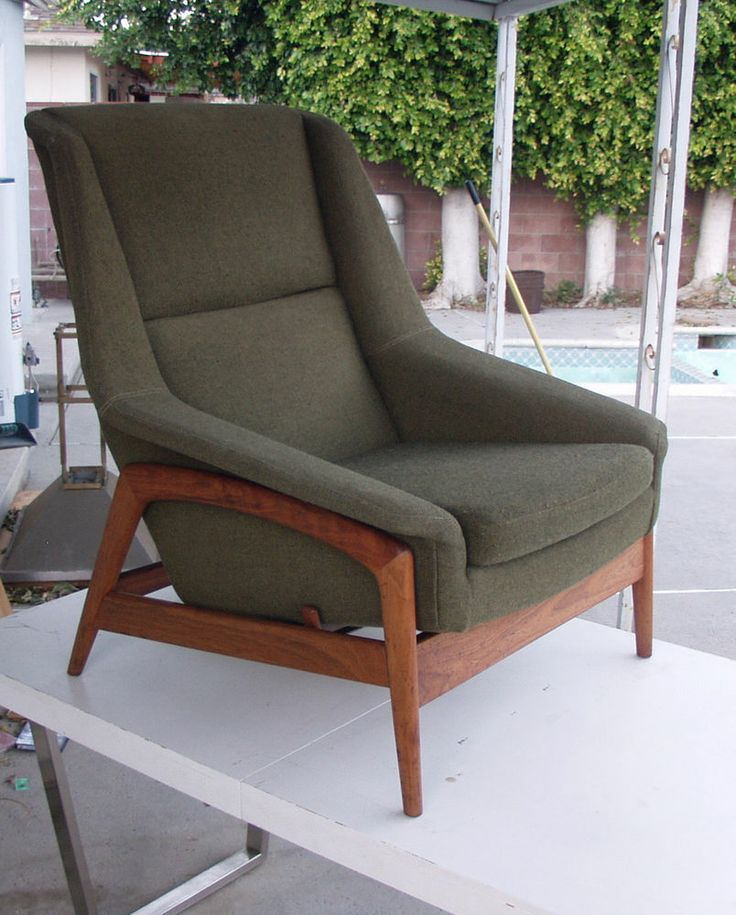 VINTAGE MID-CENTURY MODERN DANISH FOLKE OHLSSON RECLINER CHAIR FOR DUX & 26 best kerrville house images on Pinterest | Mid century Digital ... islam-shia.org