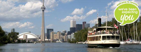 Toronto city website - Visitors Resources