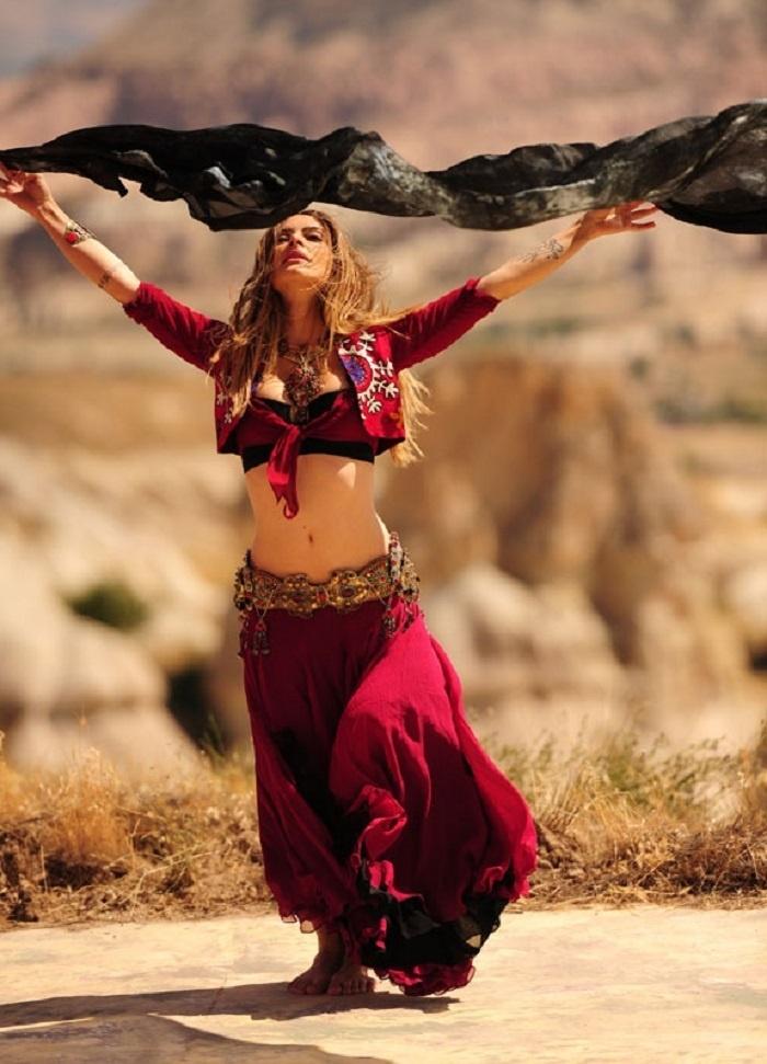 Dança turca, novela.