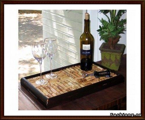 Креатив из винных пробок / что можно сделать из винных пробок