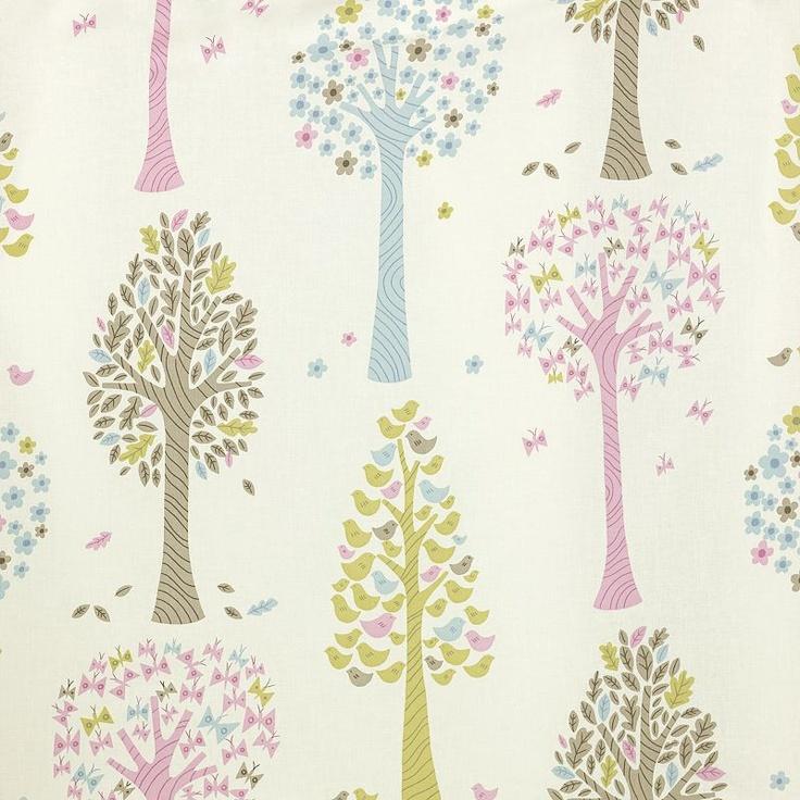 Buy John Lewis Magic Trees Pencil Pleat Curtains, Multi, Pair online at JohnLewis.com - John Lewis