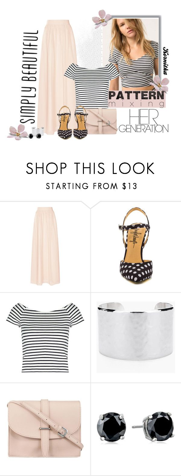 """nr 195 / Head-to-Toe Pattern Mixing"" by kornitka ❤ liked on Polyvore featuring Bershka, Reiss, TaylorSays, Lipsy, Chico's, M.N.G and CZ by Kenneth Jay Lane"