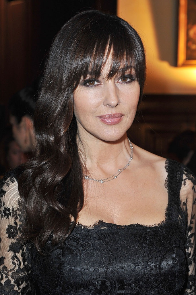 La actriz posee una melena envidiable y para no renunciar a ella cuando cambia de look apuesta por el flequillo.
