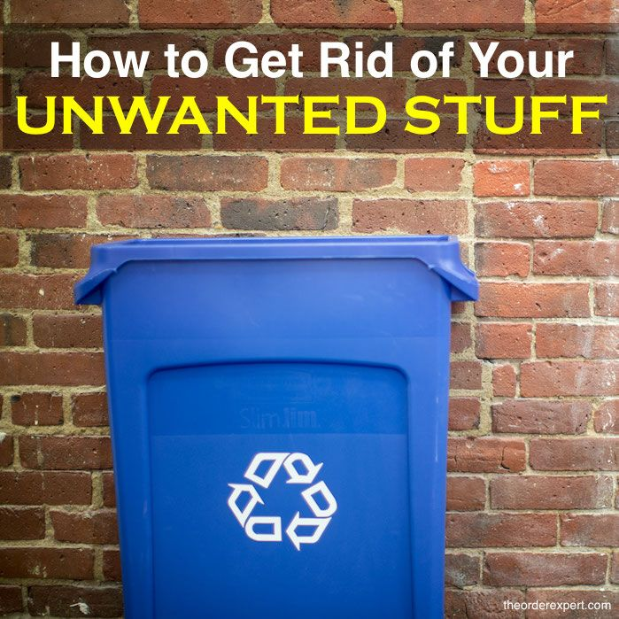 You've just cleaned out your clothes closet, the attic, an your kitchen pantry. You've amassed quite a large amount of things, but what should you do with it all? Should you donate, recycle, or throw everything away? This post has some useful tips to help you decide how to dispose of your belongings.