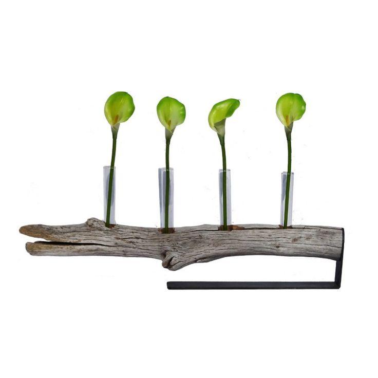 Centro de mesa equilibrio vetas artesanal de madera de deriva. Pieza única decoración escultura natural Vintage o rústico, ideal para flores o velas