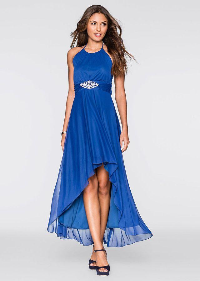 3e393b02bff81d8 Купить вечернее Платье Элегантное платье на бретель-петле вокруг шеи.  Модный асимметричный низ. Под грудью красивый декоративный элем…