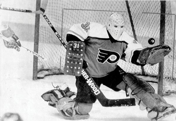The great, late Pelle Lindbergh   Philadelphia Flyers   NHL   Hockey