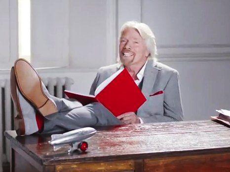 Richard Branson's 18 Tips for Success