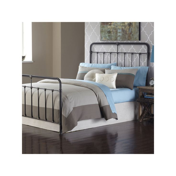 Fashion Bed Group Fairfield California King Bed, Dark Brown