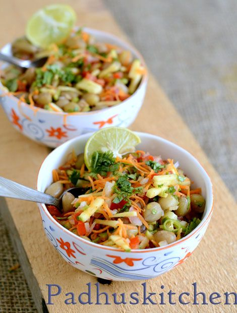 Peanut Chaat Recipe-How to make Peanut Chaat (salad)