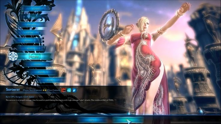 Tera Gameplay Start Character Creation 2015 HD