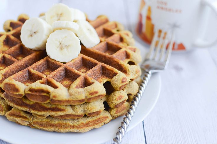 Paleo Pumpkin Waffles are an easy, healthy, and delicious way to start your day!