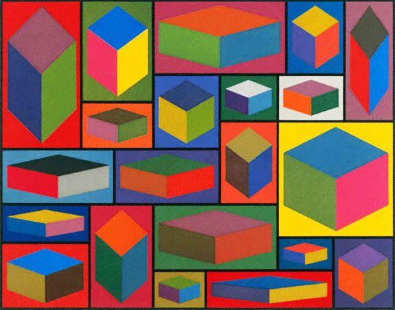 Sol Lewitt: Geometry Distortion, Contemporary Artists, Lewitt Cubes, Pet Fanclub, Artists Installations, Sol Lewitt, Distortion Cubes, Coolest Artists, Soll Lewitt