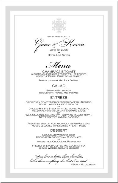 39 best Invitations gala images on Pinterest Invitations - free word menu template