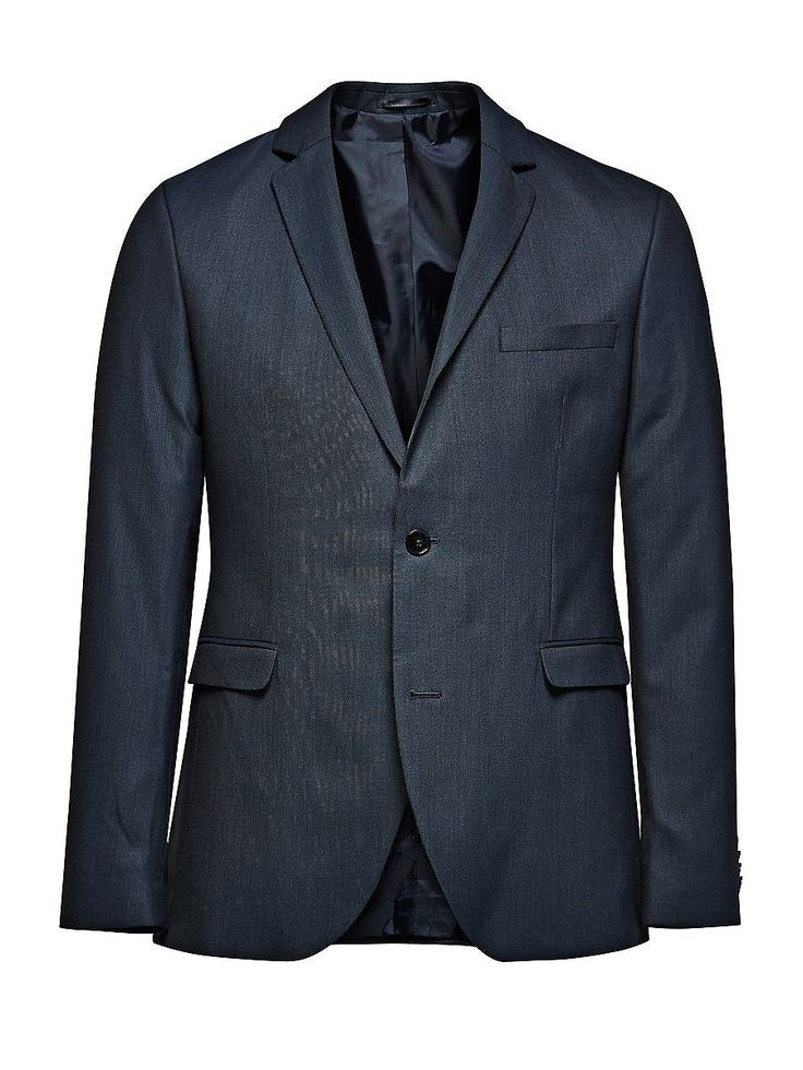 PREMIUM by JACK & JONES - Blazer von PREMIUM - Slim fit - Fallendes Revers - Doppel-Knopfleiste - Leistentaschen - Zwei Rückenschlitze - Innentaschen 49% Polyester, 48% Viskose, 3% Elasthan...