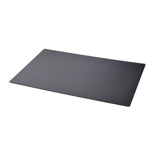IKEA - SKRUTT - Desk protector Rectangular Desk Pad Table Polyethylene * BLACK * #IKEA #Modern