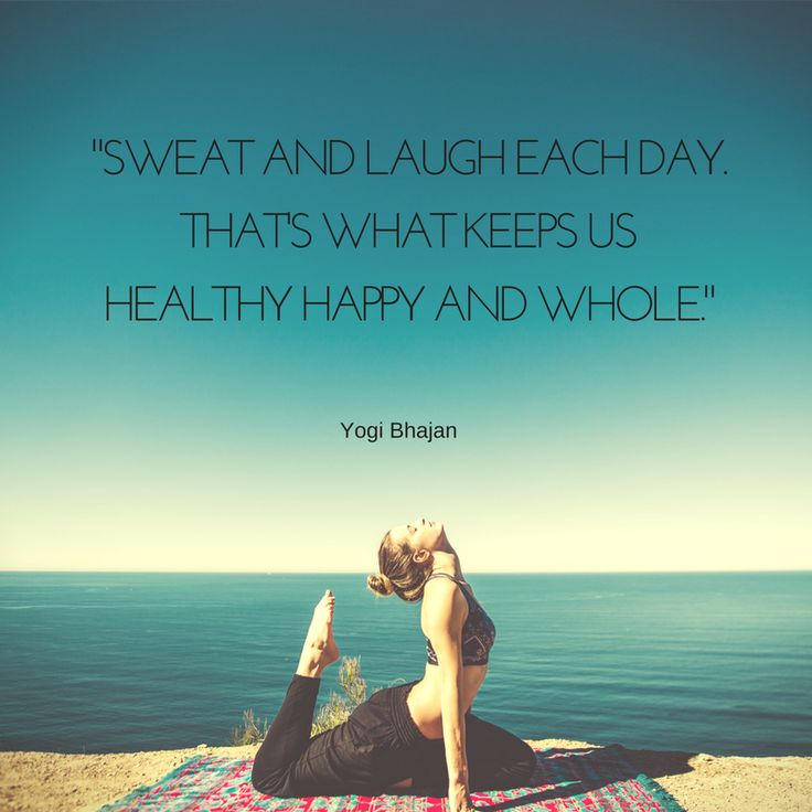 """""""Nevess és izzadj meg minden nap, ettől leszel egészséges, boldog és teljes!"""" Ez a tanács Yogi Bhajantól, a kundalini jóga legismertebb mesterétől származik. Néha még azt is hozzáteszik…"""