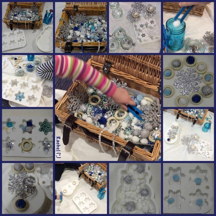 "Exploring the Winter Sensory Basket from Rachel ("",)"
