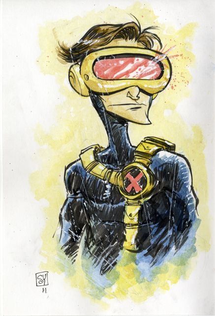 9 Comic Book Character Daily Doodles from SkottieYoung - News - GeekTyrant