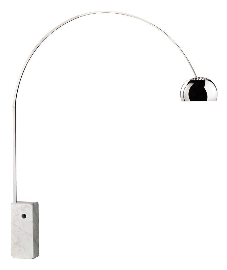 Lámpada Arco - Achille Castiglioni - Flos. 1962