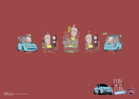 Fun going there. Fun coming back.  Advertising Agency: Leo Burnett Iberia, Spain