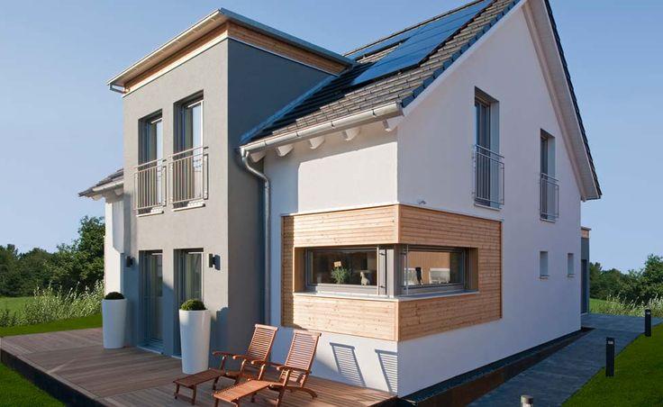 Haas Fertighaus Young & Creative 245, modernes Einfamilienhaus