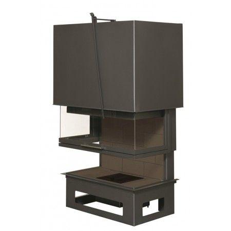 92 best modern wood stoves and inserts images on pinterest. Black Bedroom Furniture Sets. Home Design Ideas