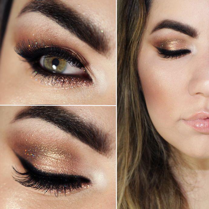 maquiagem-reveillon-ouro-rosa http://www.pausaparafeminices.com/maquiagem/maquiagem-ouro-rosa-reveillon/