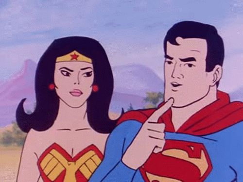 17 best images about cartoon ww superfriends 1970s 80s - Superman wonder woman cartoon ...
