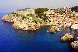 Dubrovnik, Mar, Croacia, Fortaleza